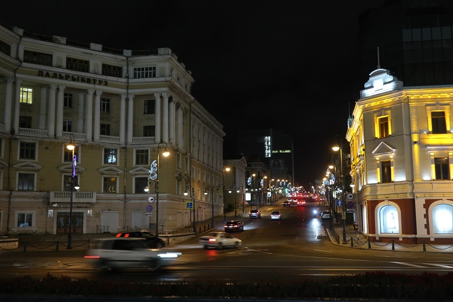 ウラジオストック街並
