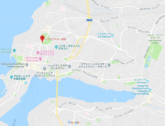 ウラジオストック港地図b