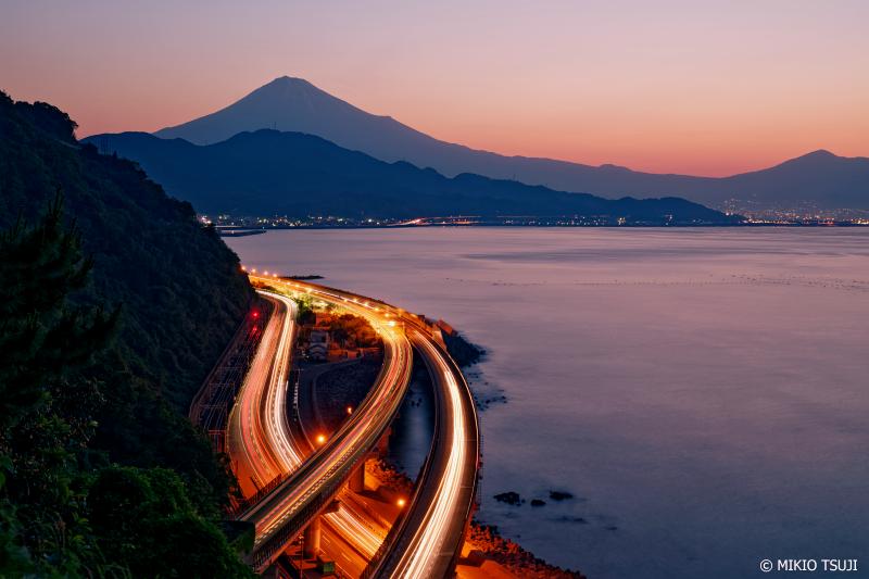 絶景探しの旅 - 0996 夜明けの薩埵峠からの風景 (静岡市 清水区)