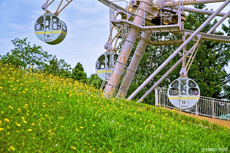 絶景探しの旅 - 1011 深山峠の観覧車 (北海道 上富良野町)