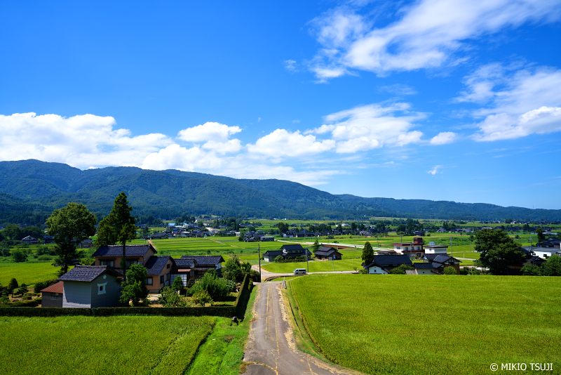 絶景探しの旅 - 1049 夏の越中富山の散居村 (富山県 南砺市)