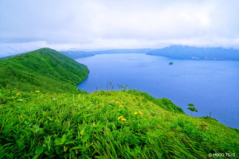 絶景探しの旅 - 1059 湖面に流れ込む摩周湖の風 (北海道 弟子屈町)