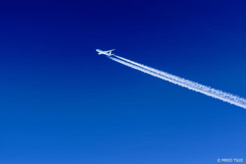 絶景探しの旅 - 1067 突き抜ける青いスカイライン (宮城県上空)